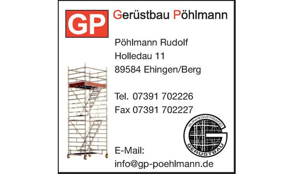 Gerüstbau Pöhlmann