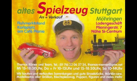 altes Spielzeug Stuttgart