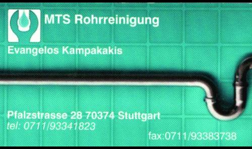 Abfluß- & Rohrfrei MTS Rohrreinigung