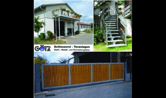 Götz GmbH - Schlosserei, Toranlagen, Stahlbau, Metallbau, Rohrleitungsbau