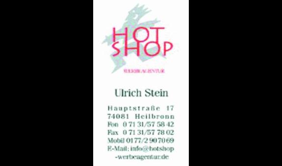 HotShop Werbeagentur Ulrich Stein