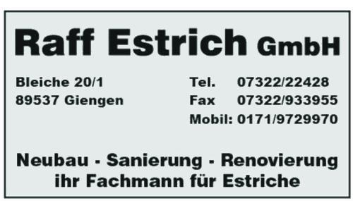 Raff Estrich GmbH