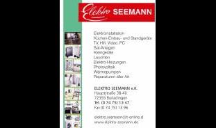 Elektro Seemann e.K.