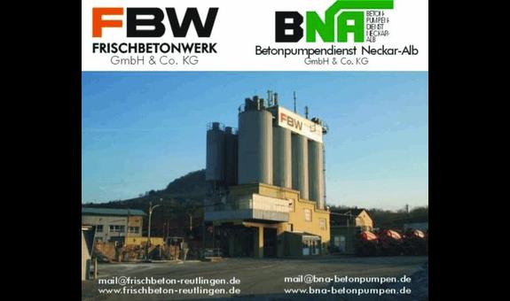 Logo von FBW Frischbetonwerk GmbH & Co. KG