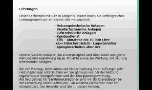 Henseler & Co GmbH, Sanitäre Anlagen, Heizungsbau, Spenglerei