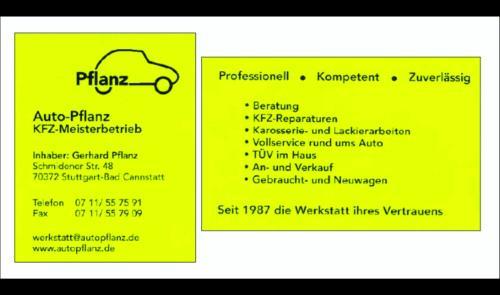 Auto Pflanz - Kfz Meisterbetrieb