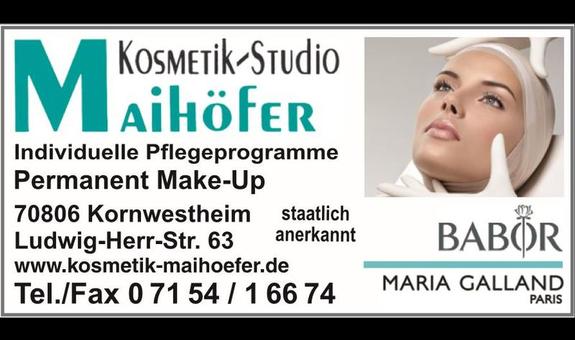 Kosmetik-Studio Maihöfer