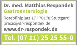 Dr.med. Matthias Respondek Internistische Schwerpunktpraxis und Tagesklinik