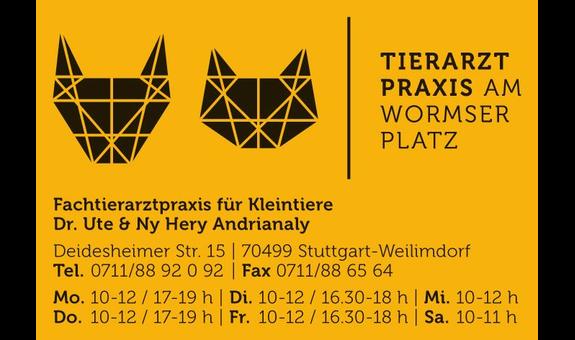 Andrianaly Ute Dr. u. Ny Hery, Tierarztpraxis am Wormser Platz