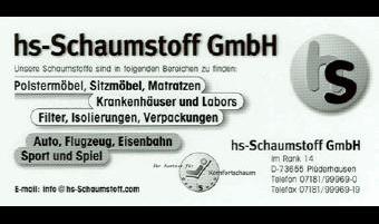 hs-Schaumstoff GmbH