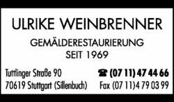 Logo von Weinbrenner Ulrike