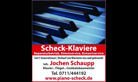 Piano Scheck