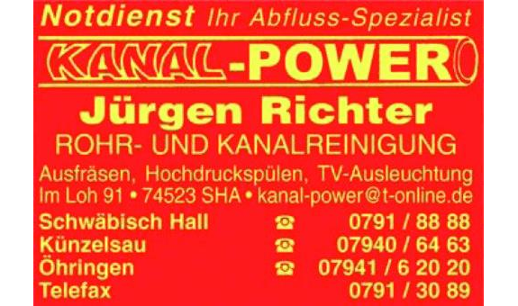 Kanal-Power Jürgen Richter