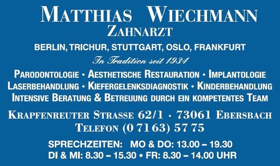 Logo von Wiechmann Matthias