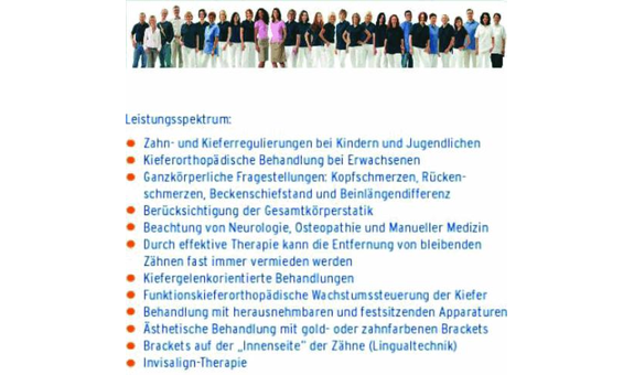 Kieferorthopädie Bad Saulgau, Dr. G. Halke, Dr. S. Rybczynski & Partner