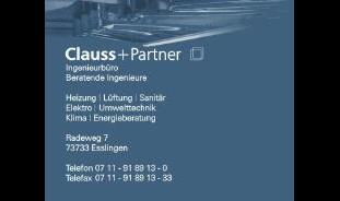 Logo von CLAUSS + Partner Ingenieurbüro