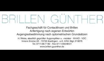 Brillen Günther