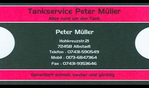 Tankservice Peter Müller