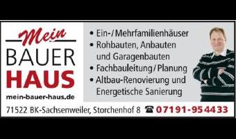 Logo von BAUER-HAUS
