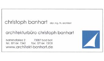 Logo von Architekturbüro Christoph Banhart