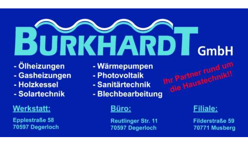 Burkhardt GmbH Haustechnik