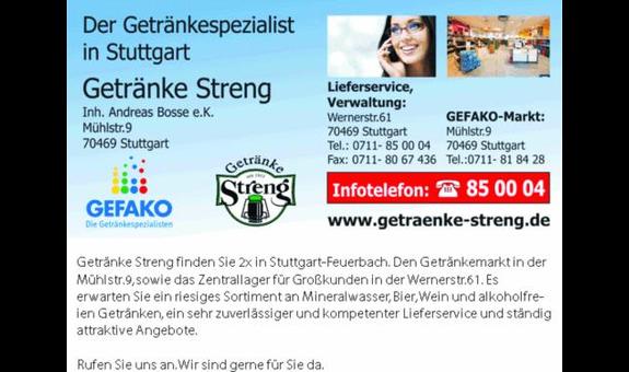 ➤ Andreas Bosse e.k. - Getränke Streng 70469 Stuttgart-Feuerbach ...