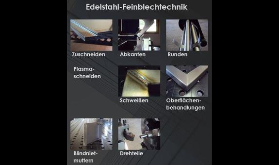 Edelstahl-Feinblechtechnik Inh. Georg Wiedmer