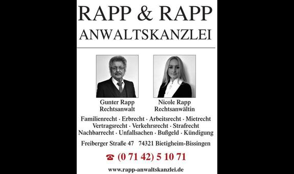 Anwaltskanzlei Rapp & Rapp