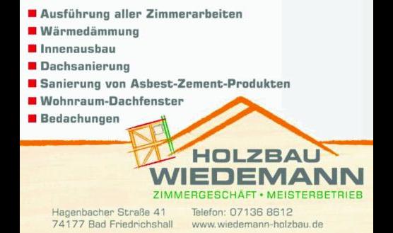 Wiedemann Holzbau