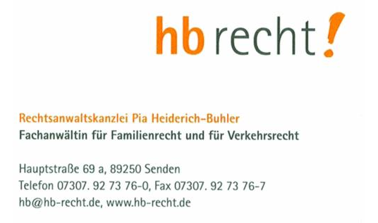 Heiderich-Buhler Pia Rechtsanwaltskanzlei