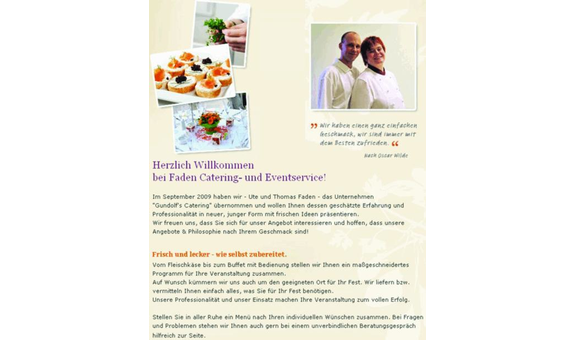 Catering- und Eventservice Faden GbR