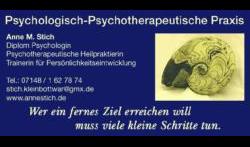 Stich Anne M. Dipl.-Psych.