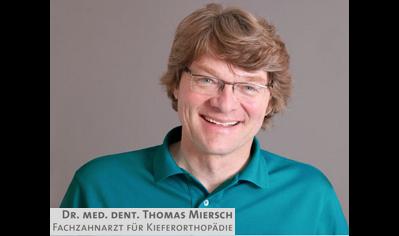 Dr. Thomas Miersch Fachzahnarzt für Kieferorthopädie in Esslingen