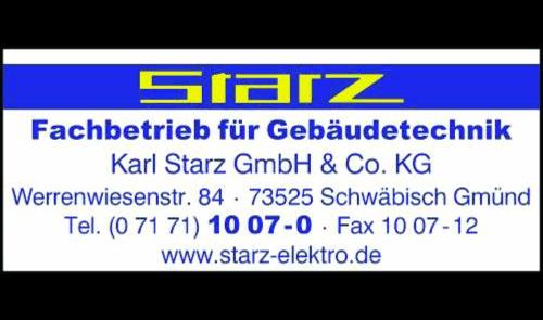 Logo von Starz Karl GmbH & Co. KG