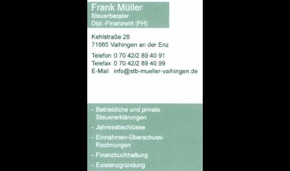 Müller Frank - Steuerberater