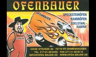 Ofenbauer Reutlingen bauer ofen 72770 reutlingen ohmenhausen öffnungszeiten adresse