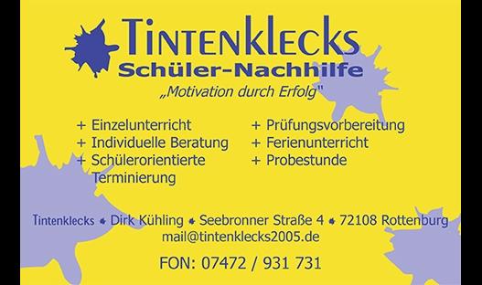 Tintenklecks Schüler-Nachhilfe, Dirk Kühling