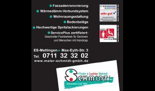Maler- und Lackierbetrieb Schmidt GmbH