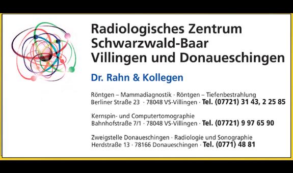Dr. Rahn & Kollegen, Radiologisches Zentrum Schwarzwald Baar