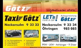 Taxi Götz