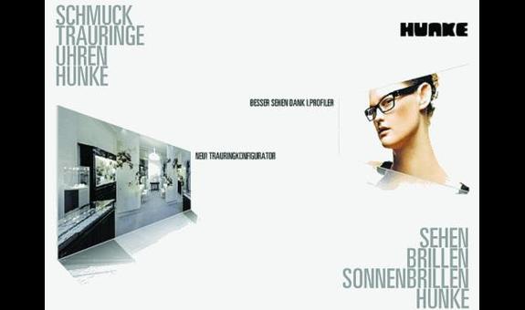 Logo von Hunke Augenoptik