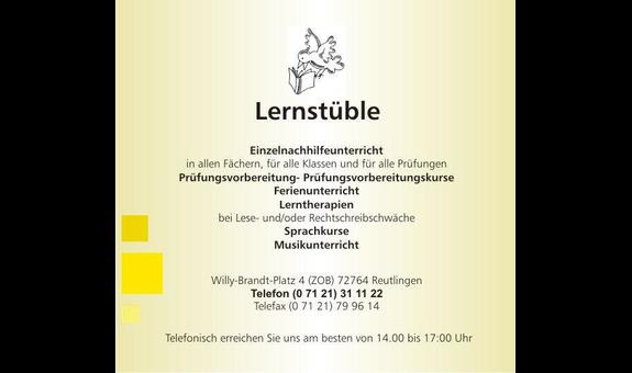 Logo von Lernstüble Reutlingen