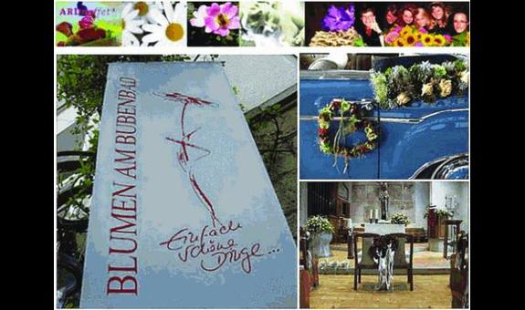 Blumen am Bubenbad
