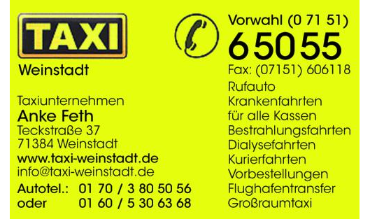 Funk Taxi Anke Feth