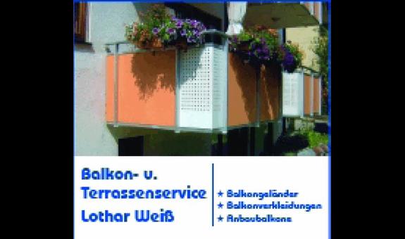 Balkon- u. Terrassenservice Lothar Weiß