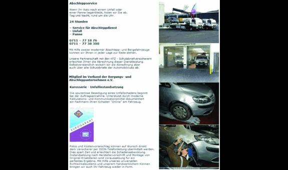 Abschleppservice Karosserie Schäfer