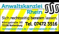 Anwaltskanzlei Rhein