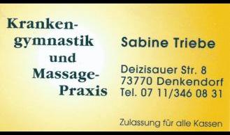 Triebe Sabine