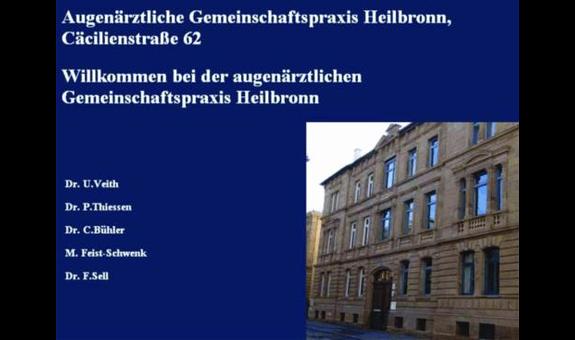 Augenärzte im Zentrum Heilbronn - Dres. U. Veith, P. Thiessen, C. Bühler, M.