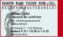 Fischer, Renk, Kuhn